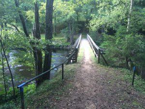 Bro över Mörrumsån