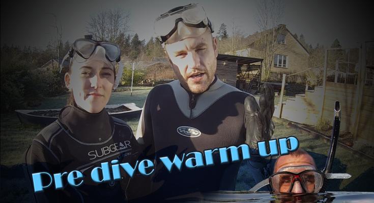 Uppvärming innan dyk
