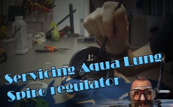 Aqua Lung Spiro safe 2nd regulator service